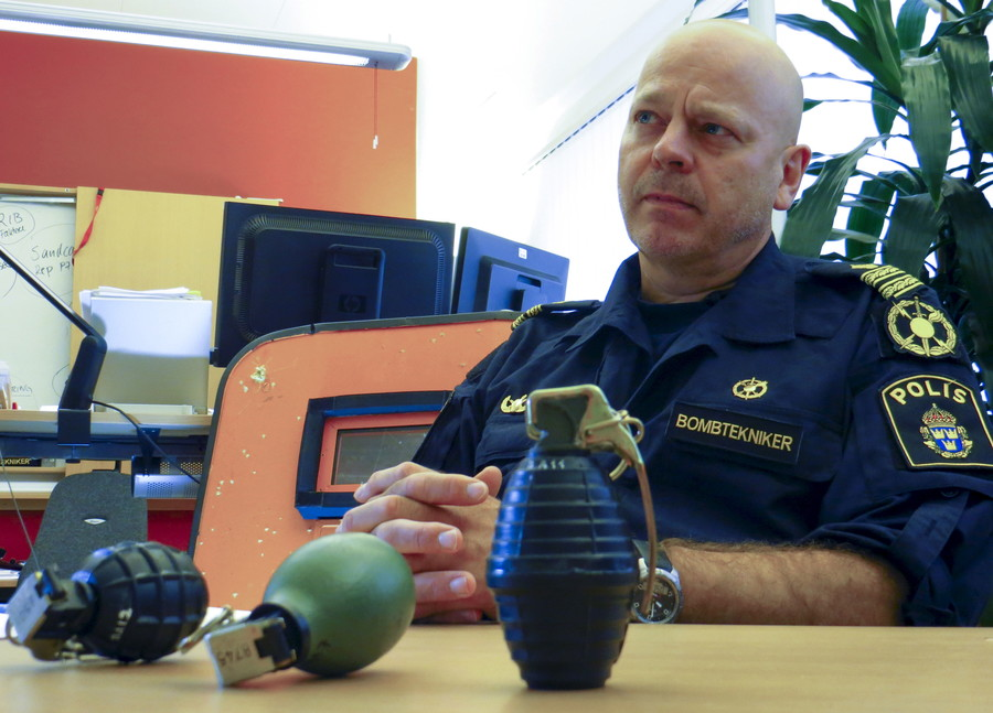 Sweden declares 'hand grenade amnesty' in attempt to curb deadly gang crimes