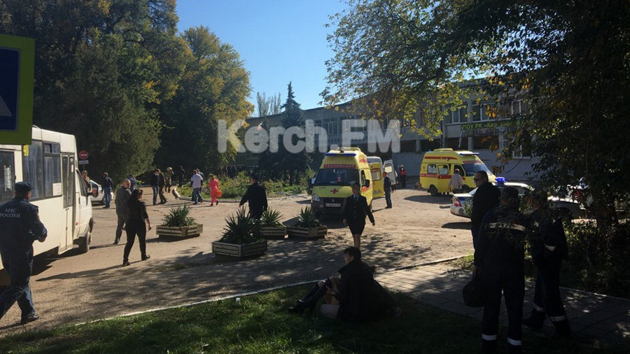 Powerful blast rocks city college in occupied Crimea's Kerch