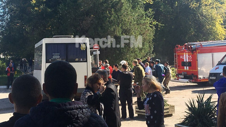 Multiple casualties after explosion at college in Crimea
