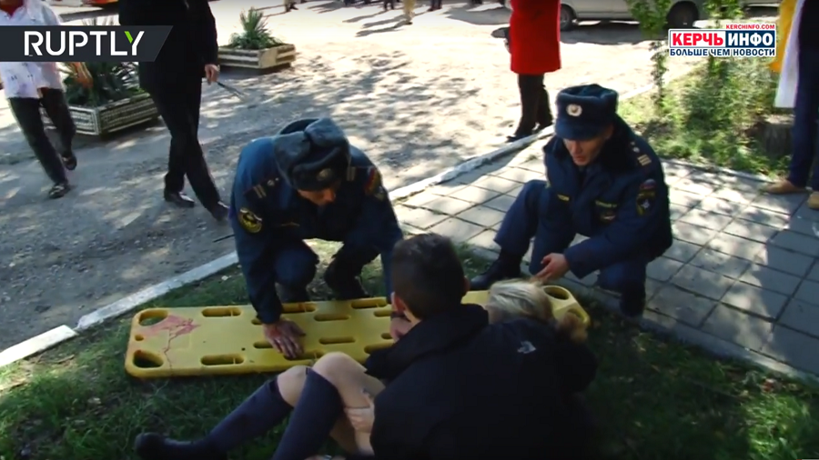 Gun-wielding Kerch attacker caught on CCTV (PHOTO)