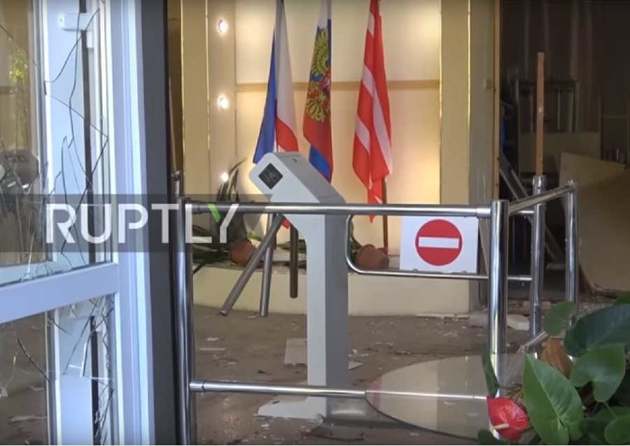 A glimpse into hell: Narrow escape from Kerch college massacre caught on VIDEO