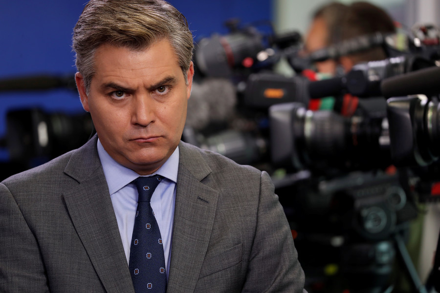 CNN's Acosta bizarrely tells former WH official to 'Fu*k off' for teasing tweet