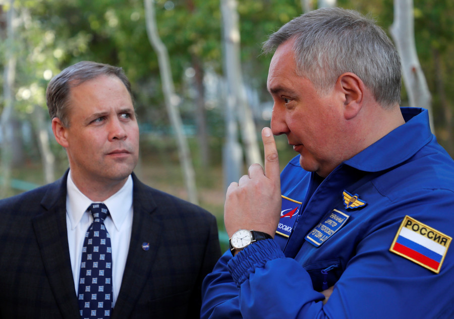 Russian space boss 'temporarily' taken off sanction list so he can visit US – NASA chief