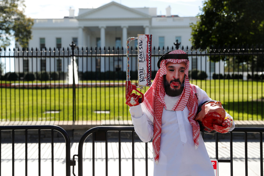 Saudi prince MBS put in charge of intel purge following Khashoggi death