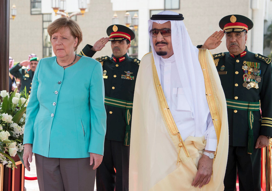 Europe finds Riyadh's Khashoggi death story 'inadequate', Berlin talks arms sale freeze
