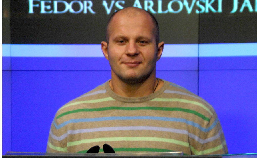 MMA legend Fedor Emelianenko's iconic striped sweater sells for $10.8K on eBay