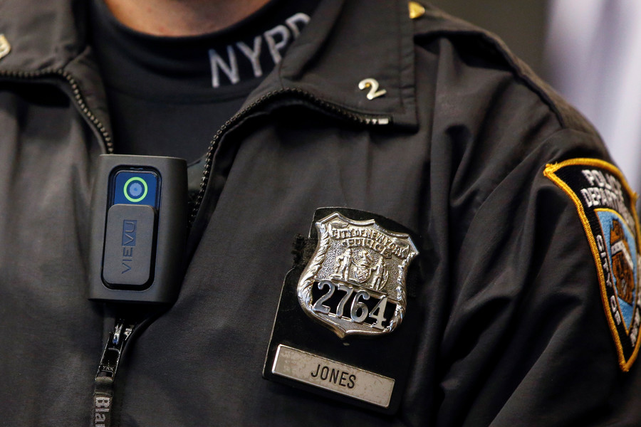 Female NYPD sergeant accused of stuffing her panties in other cop's mouth