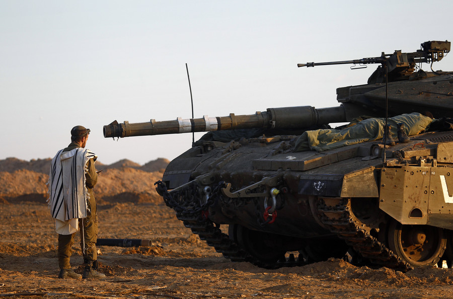 'No choice but war': Israel 'exhausted all options' in dealing with Hamas, says defense chief