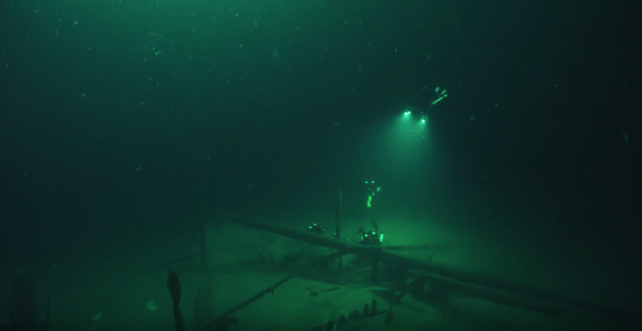 World's 'oldest intact shipwreck' discovered in murky depths of Black Sea after 2,400 years (VIDEO)