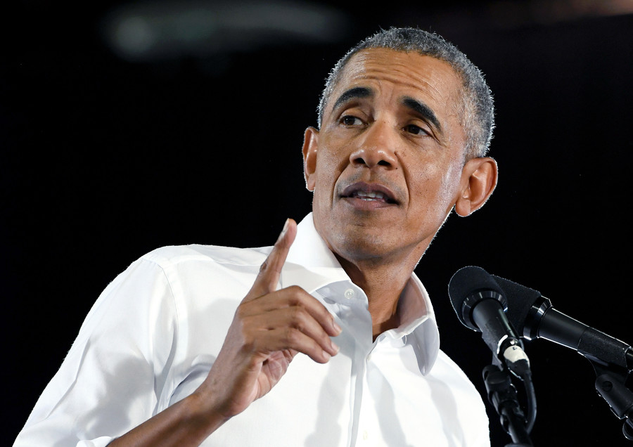 I did it my way: Barack Obama gives self-referential speech in Nevada