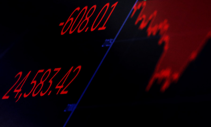 US market meltdown wipes out 2018 gains as Trump trade wars take toll on stocks
