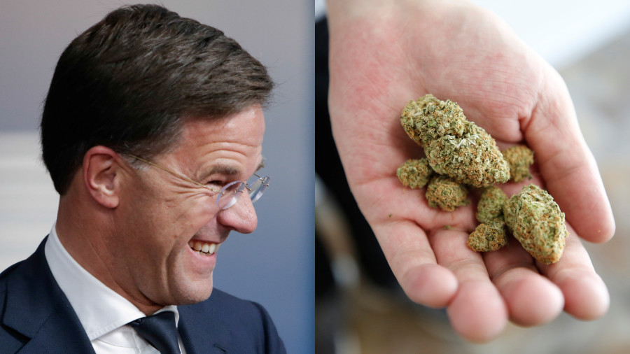 Weed is bad, m'kay? Dutch PM warns Canadians against sparking up