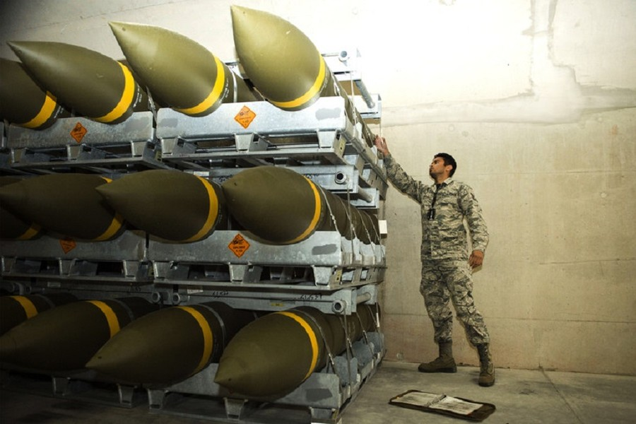 US delivers largest ammunition shipment to Europe since bombing of Yugoslavia in 1999