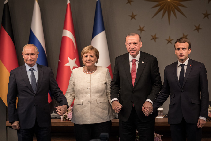 Common ground on Syria: What France, Germany, Turkey & Russia agreed in Istanbul