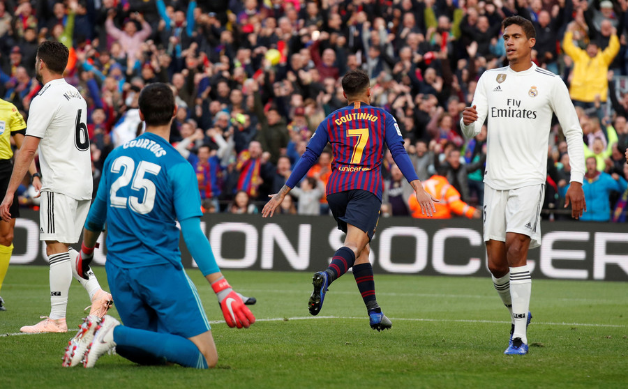 Image result for real madrid vs barcelona 5-1