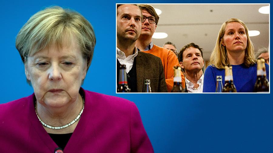 Merkel will not seek re-election as CDU chair after Hesse election debacle
