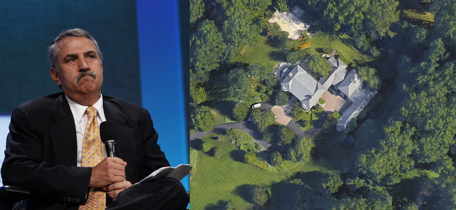 NYT's Thomas Friedman reminded about his fancy mansion after sobbing about carbon footprints