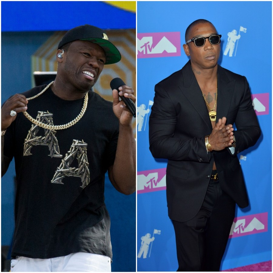 Rapper's delight: 50 Cent 'bought 200 seats' to rival Ja Rule's concert ...so they can sit empty