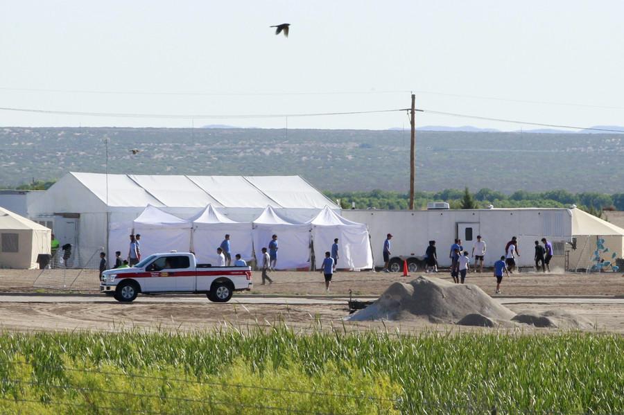 Trump vows to corral migrant caravans into 'nice tent cities' pending 'asylum trials'