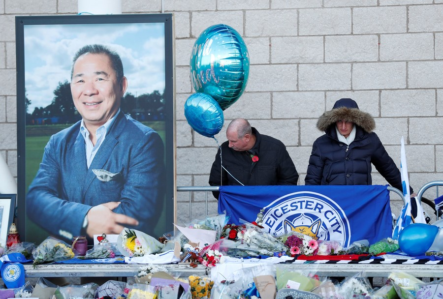 'I miss you dad, with all of my heart': Son of Leicester owner leaves tribute to 'extraordinary' dad