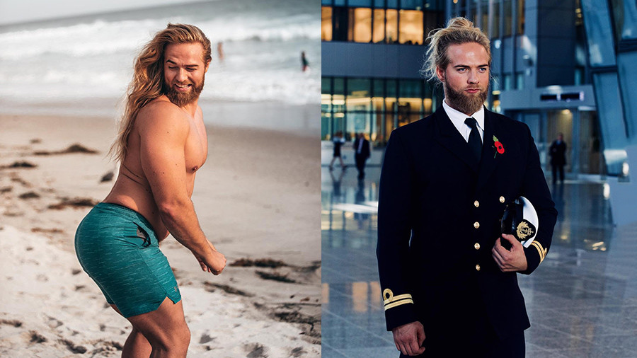 NATO's secret weapon? Chiseled Norwegian man-bun hunk promotes massive war games (PHOTOS)