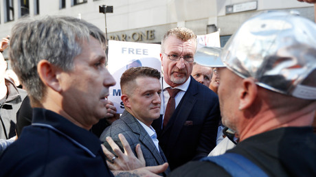 Tommy Robinson threatens Sky News with legal action over 'lies and propaganda' in edited interview