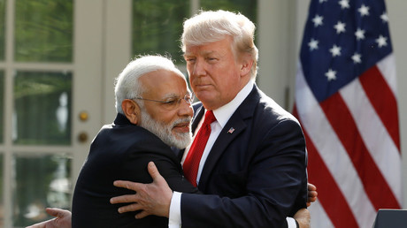'They have to keep us happy': Trump brandishes his 'powerful' tariff stick at India
