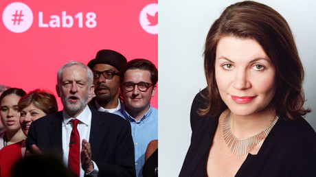 Corbynistas v Hartley-Brewer: Joke about a safe space lands Talkradio host in hot water