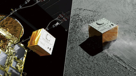 MASCOT probe lands on prehistoric asteroid, begins mission to unlock origins of universe (PHOTOS)