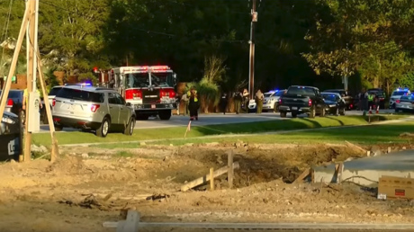 1 officer killed, 6 injured in South Carolina shooting; suspect in custody
