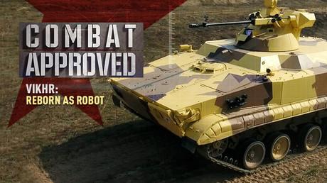 Vikhr: Reborn as robot