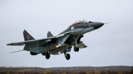 Mig-29 fighter jet crashes in Moscow region, both pilots survive – reports