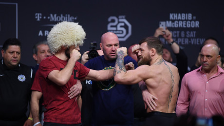 Massive post-fight brawl mars Khabib win over McGregor at UFC 229