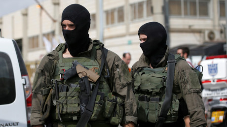Suspect at large after West Bank 'terrorist attack', 2 killed