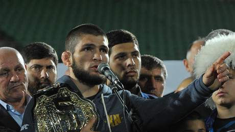 'I begged God for one thing – to leave me in the cage with this clown' - Khabib Nurmagomedov (VIDEO)