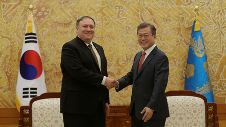 Pompeo complained that North & South Korea talk peace without him – South FM