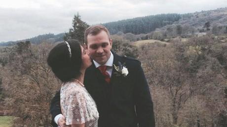 Matthew Hedges with his wife Daniela Tejada © Facebook / Matthew Hedges
