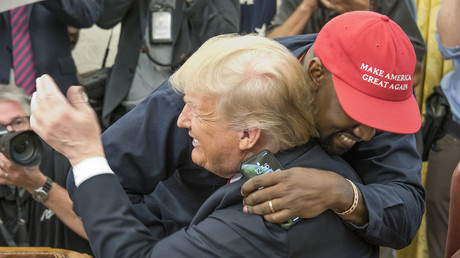 5bbfa2d5dda4c891018b45ee WATCH: Kanye's insane White House solo that left Trump mindblown