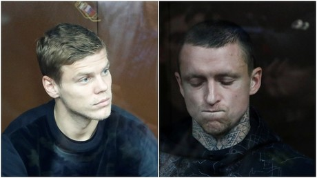 5bbfb88cfc7e93001a8b45d5 Russian footballers Kokorin & Mamaev behind bars for 2 months awaiting trial over drunken assaults