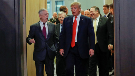 Asked about Mattis, Trump says 'Everybody leaves at some point.' MSM: Mattis is GOING!