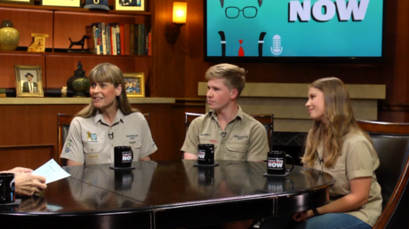 """Terri, Bindi and Robert Irwin on their new show, Steve's legacy, and the meaning behind """"Crikey"""""""