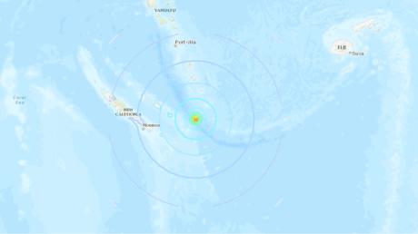 6.4 quake, aftershocks strike off New Caledonia