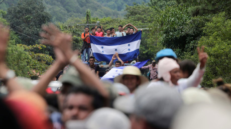 Trump threatens Honduras with aid cut unless new 'caravan of people' stopped