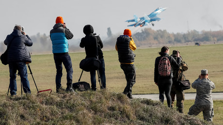 Ukrainian military publishes, then deletes info on American killed in Su-27 crash