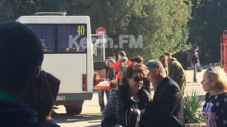 Explosive device caused blast that killed 10, injured 50 in Crimea college - antiterrorist officials