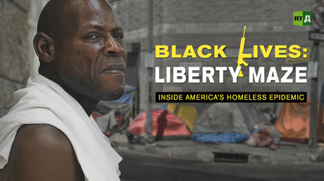 Black lives: Liberty Maze