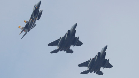 6 killed as US-led coalition F-15 jets bomb Kurdish forces fighting ISIS – report
