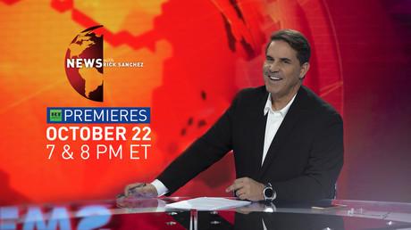 Veteran broadcaster Rick Sanchez goes primetime on RT America