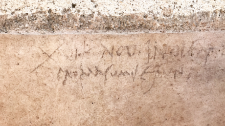 Ancient graffiti shows we've been wrong about Pompeii doomsday date all along