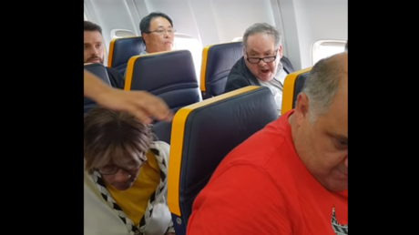 'Ugly, black b******': Passenger launches racist rant at woman on Ryanair flight (VIDEO)
